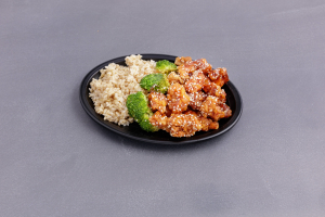 C2. Sesame Chicken Combination Special - delivery menu