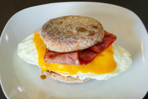 Skinny Mini Breakfast Sandwich - delivery menu