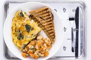 N3. Caribbean Omelet - delivery menu