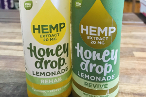 Honey drop w/ hemp extract - delivery menu