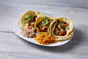 3 Taco Dinner - delivery menu