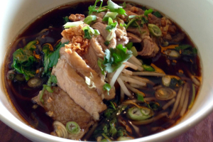 5 Spices Duck Noodle Soup - delivery menu