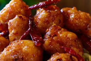 Honey Spicy Shrimp - delivery menu