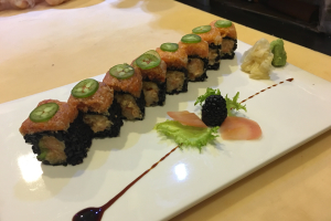 Triple Spicy Roll (With Black Rice) - delivery menu