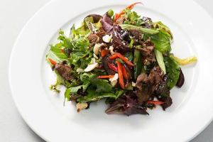 Beef Tongue Salad - delivery menu