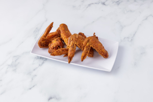 1A. Fried Chicken Wings Platter - delivery menu