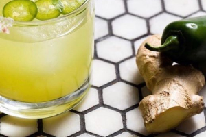 SPICY GINGER MARGARITA( Must be 21 to purchase ) 8OZ - delivery menu