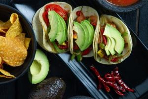 Veggie Avocado Taco - delivery menu