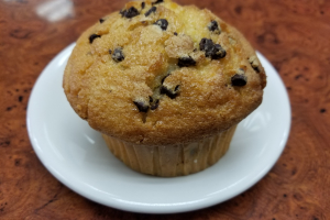 Homemade Chocolate Chip Muffin - delivery menu