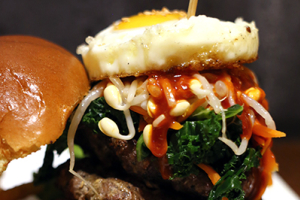 Bibimbap Burger - delivery menu