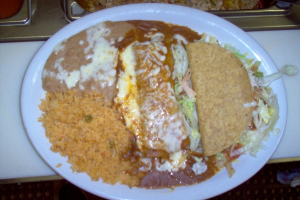 #5. Taco and Enchilada - delivery menu