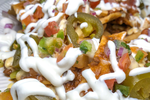 Chili Cheese Nachos - delivery menu