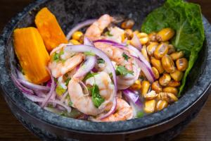 Ceviche De Camarones - delivery menu
