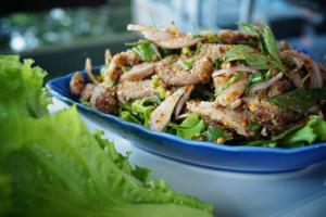 Pork Chop Salad - delivery menu