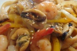 Seafood Udon Stir Fry - delivery menu