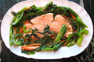 101. Salmon Paradise - delivery menu