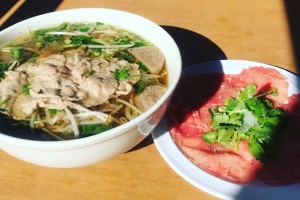 Rice Noodle Soup with Rare Steak, Brisket, Tendon, Tripe and Beef Balls - delivery menu