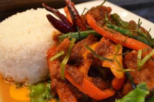 Prikking Crispy Pork Entree - delivery menu