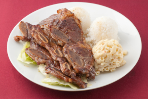 55. Hawaiian BBQ Short Ribs Plate - delivery menu