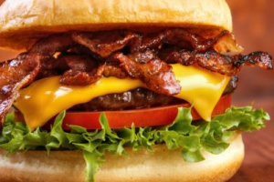 2. Bacon Cheeseburger Combo - delivery menu