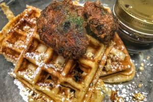 Stuffed Waffles - delivery menu