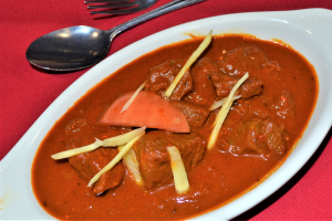 LAMB ROGAN JOSH - delivery menu