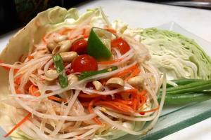 Green Papaya Salad - delivery menu