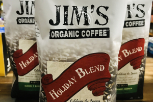 Jim's organic coffee (HOLIDAY BLEND) - delivery menu
