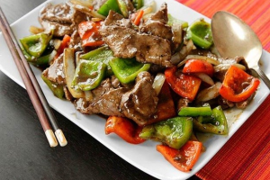 L14. Pepper Steak with Onion Combo - delivery menu
