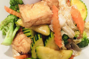 Mix Veggie and Tofu Rice Bowl Lunch Special - delivery menu