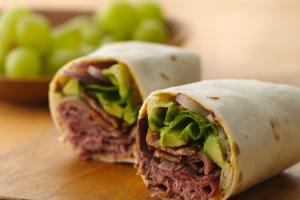 Roast Beef Wrap - delivery menu