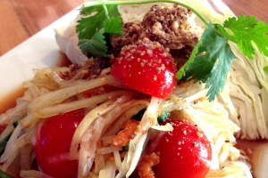 Green Papaya Salad - delivery menu