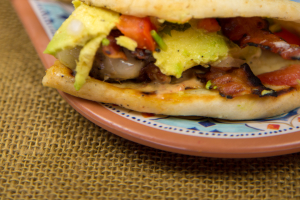 MEDI BURGER ON PITA - delivery menu