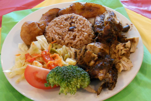 Jerk Chicken Lunch - delivery menu