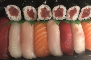 8 Piece Sushi Dinner with Tuna Roll - delivery menu