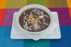 Black Bean Soup - delivery menu