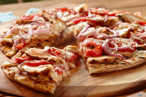 Grilled Chicken Pizza - delivery menu