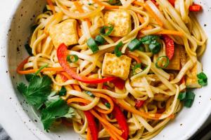 Vegan Garlic Noodles - delivery menu
