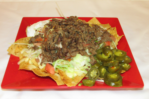 Nachos With Meat - delivery menu