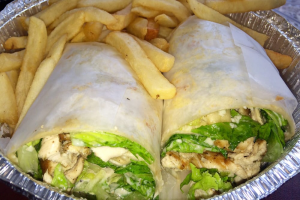 Grilled Chicken Caesar Salad Wrap - delivery menu