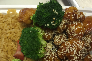 17. Sesame Chicken Dinner Special  - delivery menu
