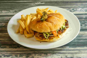 Torta with French Fries - delivery menu