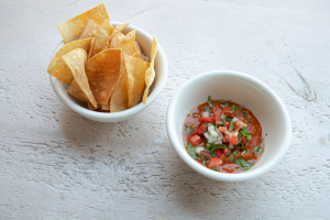Large Salsa (8oz) and Chips - delivery menu