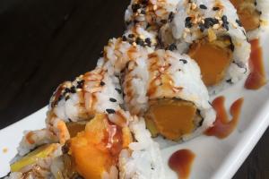 Sweet pumpkin tempura maki - delivery menu