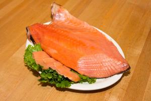 1/4 lb. Nova Scotia Salmon - delivery menu