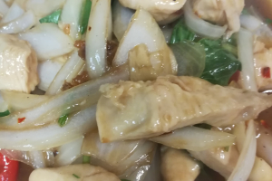 Spicy Basil Leaves - delivery menu