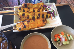 A11. Satay Chicken - delivery menu