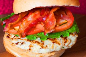 Chicken Burger - delivery menu