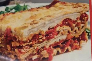 Baked Meat Lasagna - delivery menu