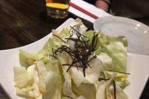 Shio Cabbage - delivery menu